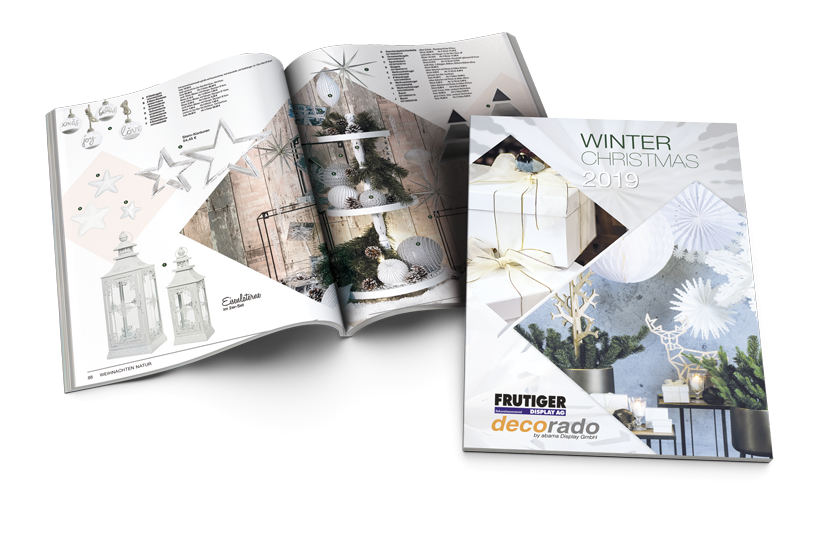 decorado Winter Christmas Katalog 2019